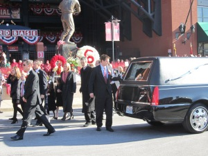 Stan Musial funeral 034