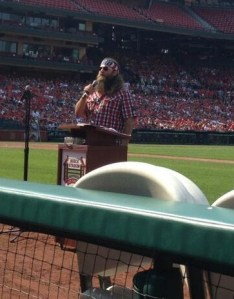 Willie at Busch