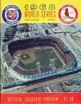 1968 WS scorecard