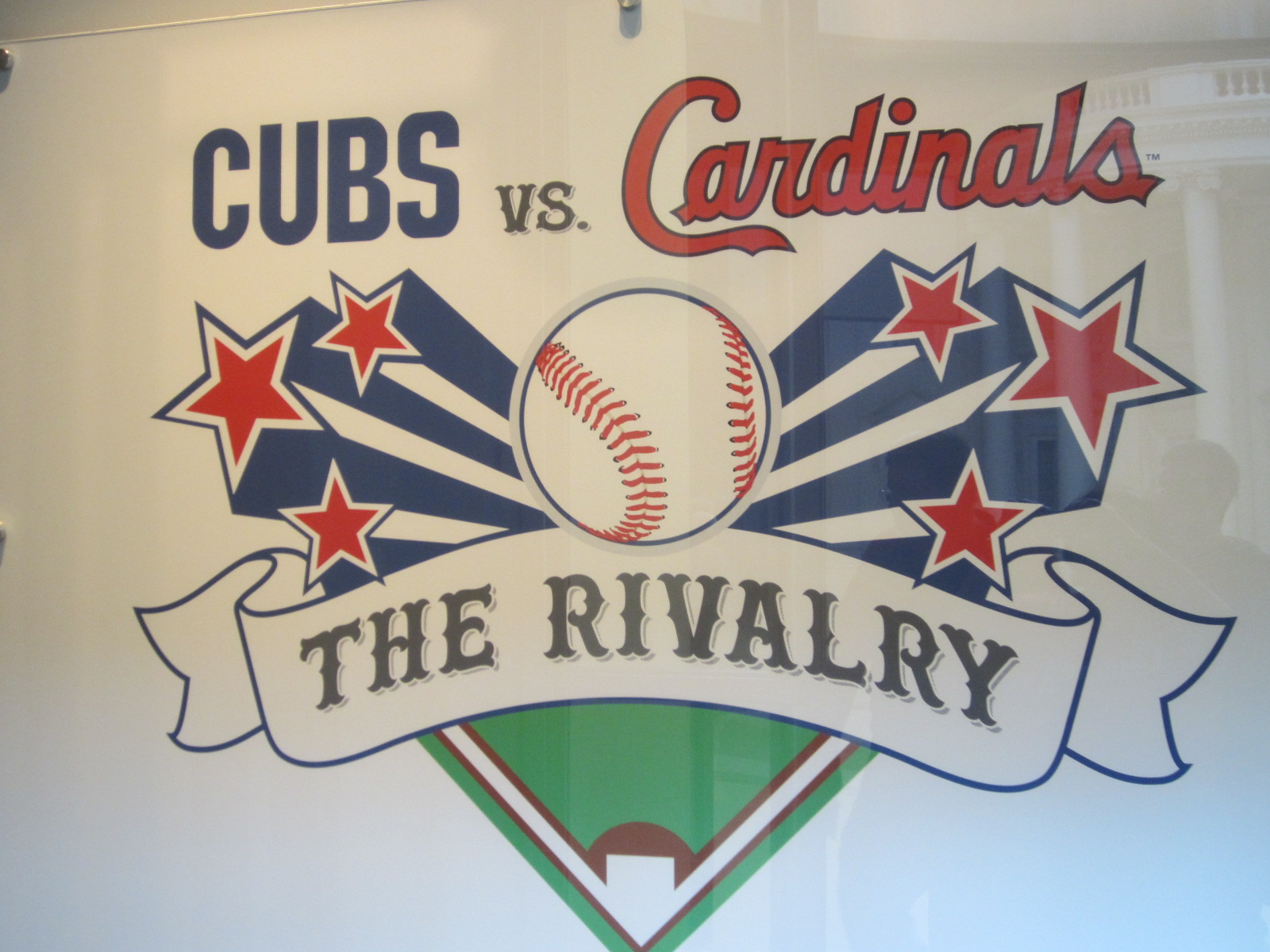 09306f259 Cardinals – The Rivalry exhibit at the Abraham Lincoln Presidential Museum  all season but we finally found the time this weekend.